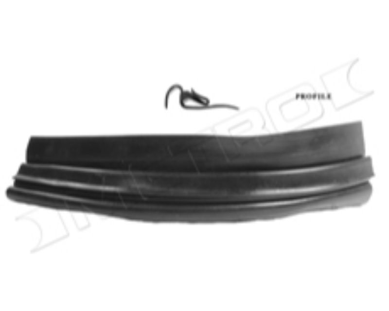 Metro Moulded LP 109-M Bumper To Body Gravel Deflector Seal69In Long Pc,2-7/8In Wide;Ea