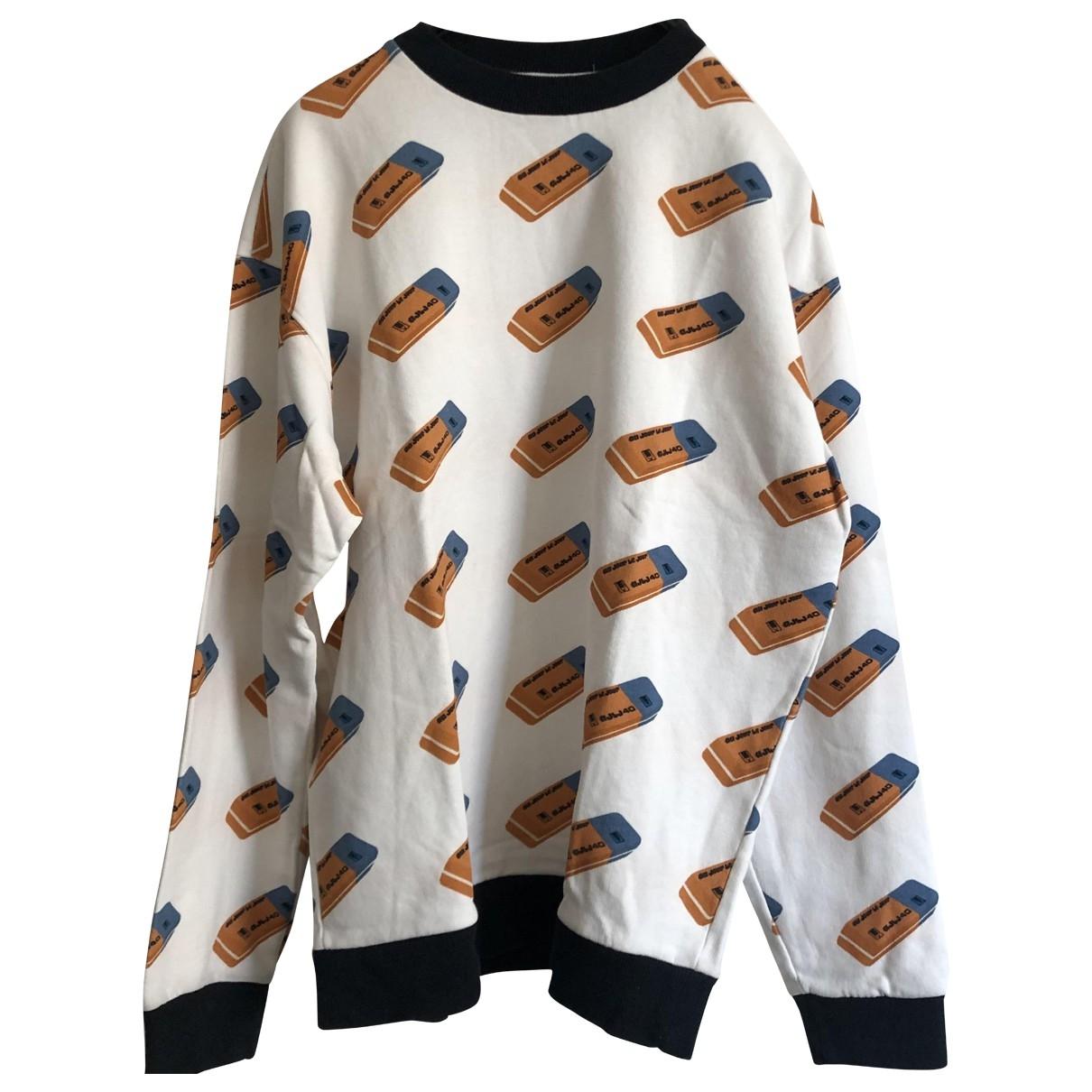 Au Jour Le Jour \N Pullover.Westen.Sweatshirts  in  Weiss Baumwolle