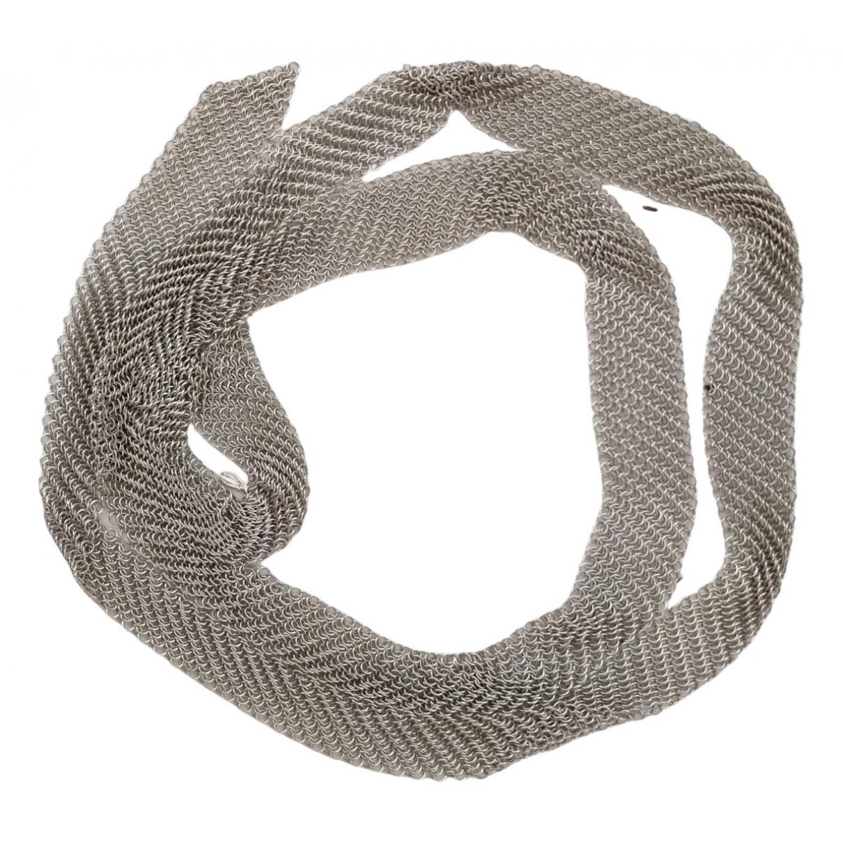 Tiffany & Co Elsa Peretti  Silver Silver Long necklace for Women N
