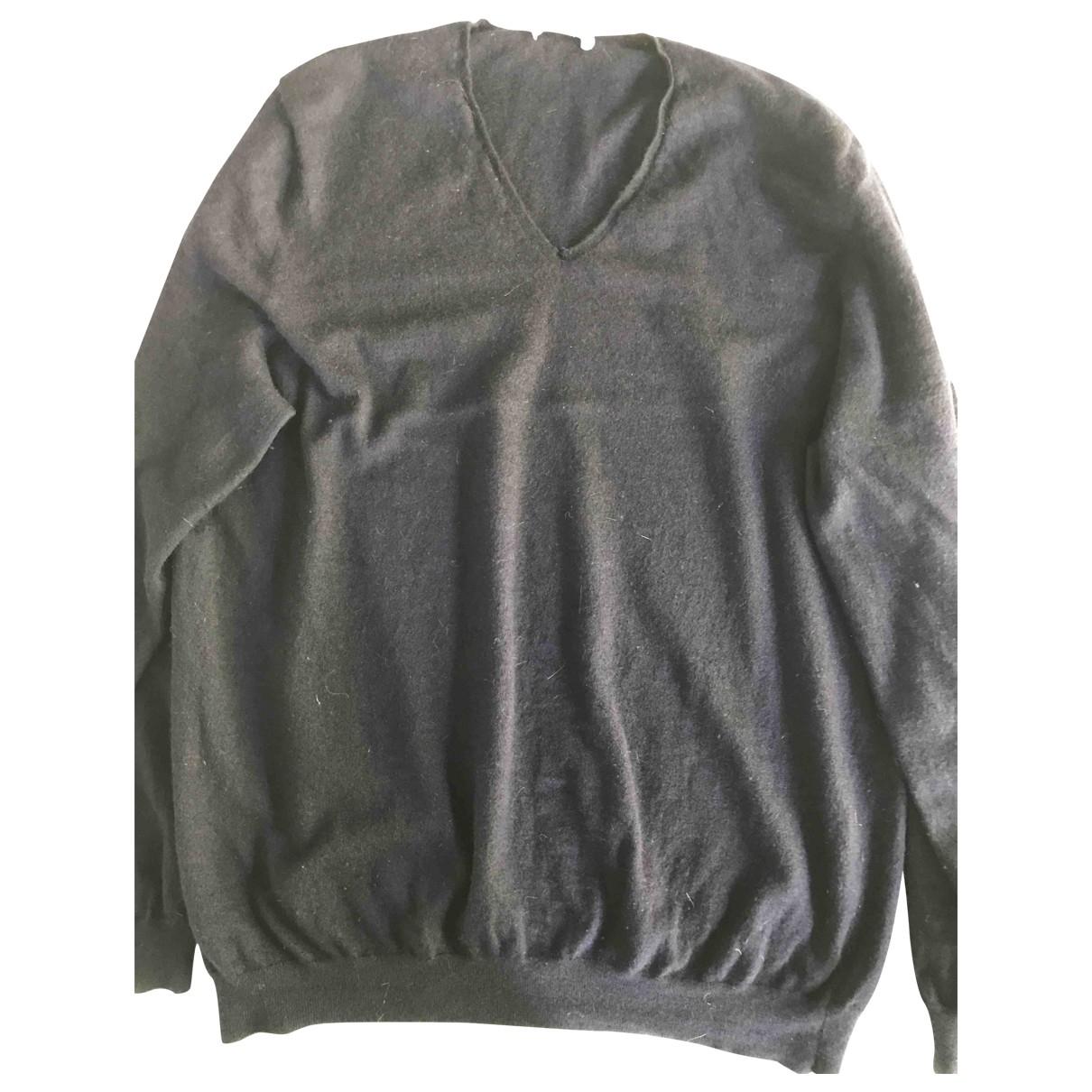 Eric Bompard \N Pullover.Westen.Sweatshirts  in  Marine Kaschmir