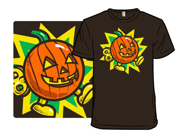 Pumpkin Bomb T Shirt