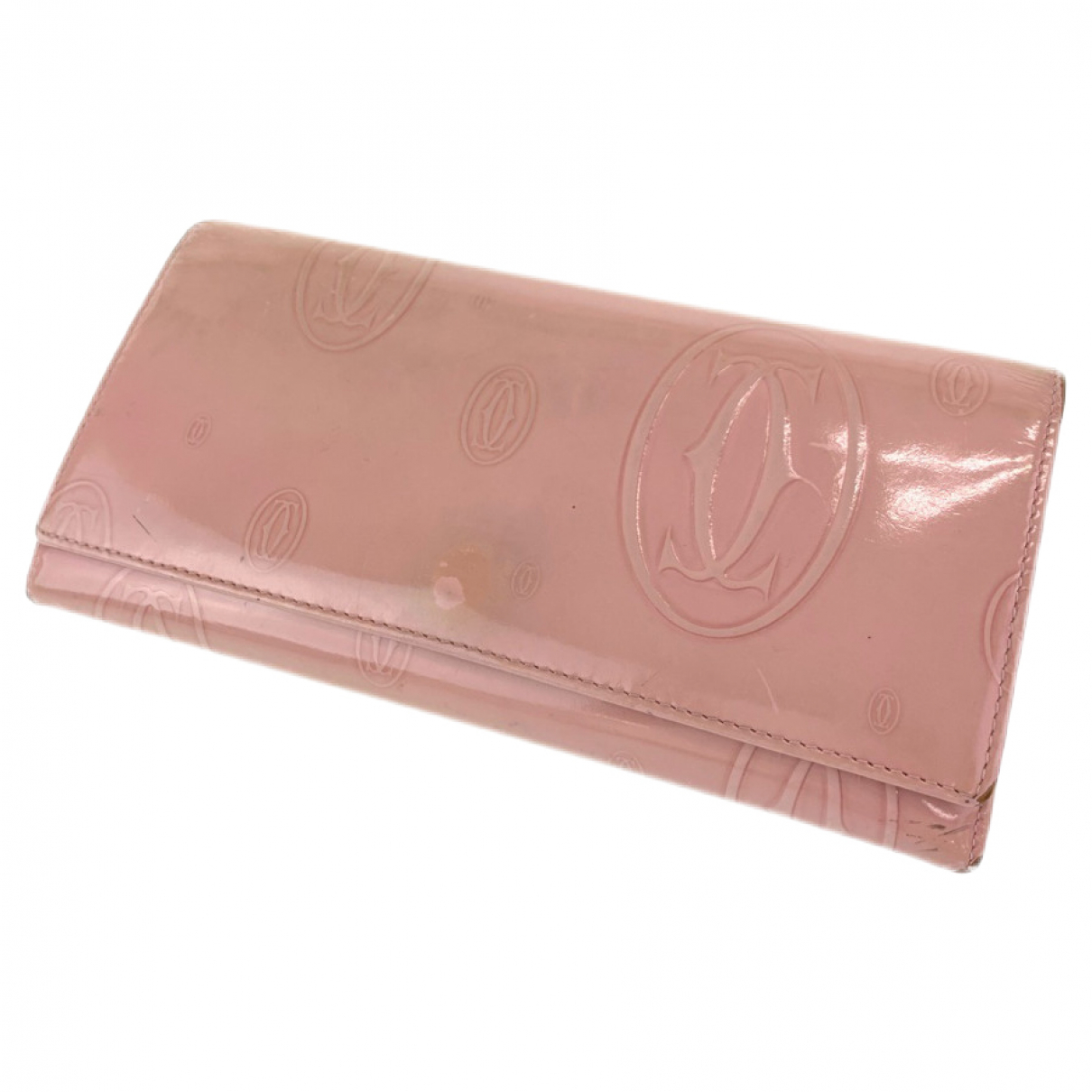 Cartier - Portefeuille   pour femme en cuir verni