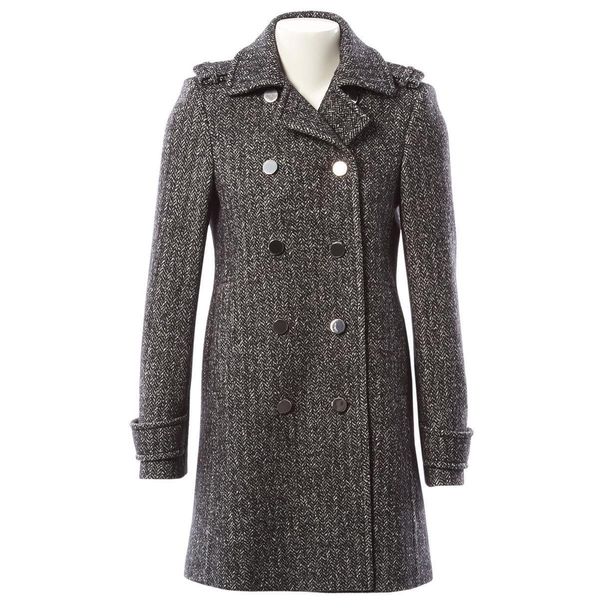Gucci \N Grey Wool coat for Women 40 IT