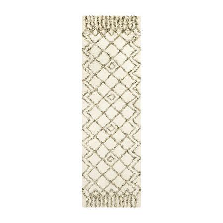Safavieh Casablanca Collection Jamaar Geometric Runner Rug, One Size , Multiple Colors