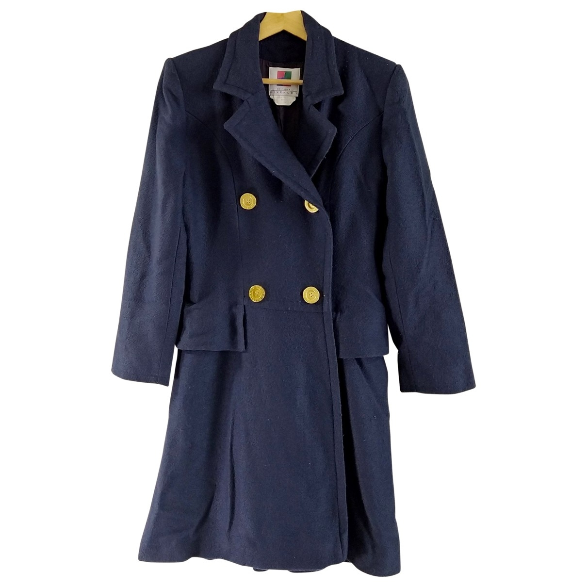 Givenchy \N Navy Wool coat for Women 38 FR