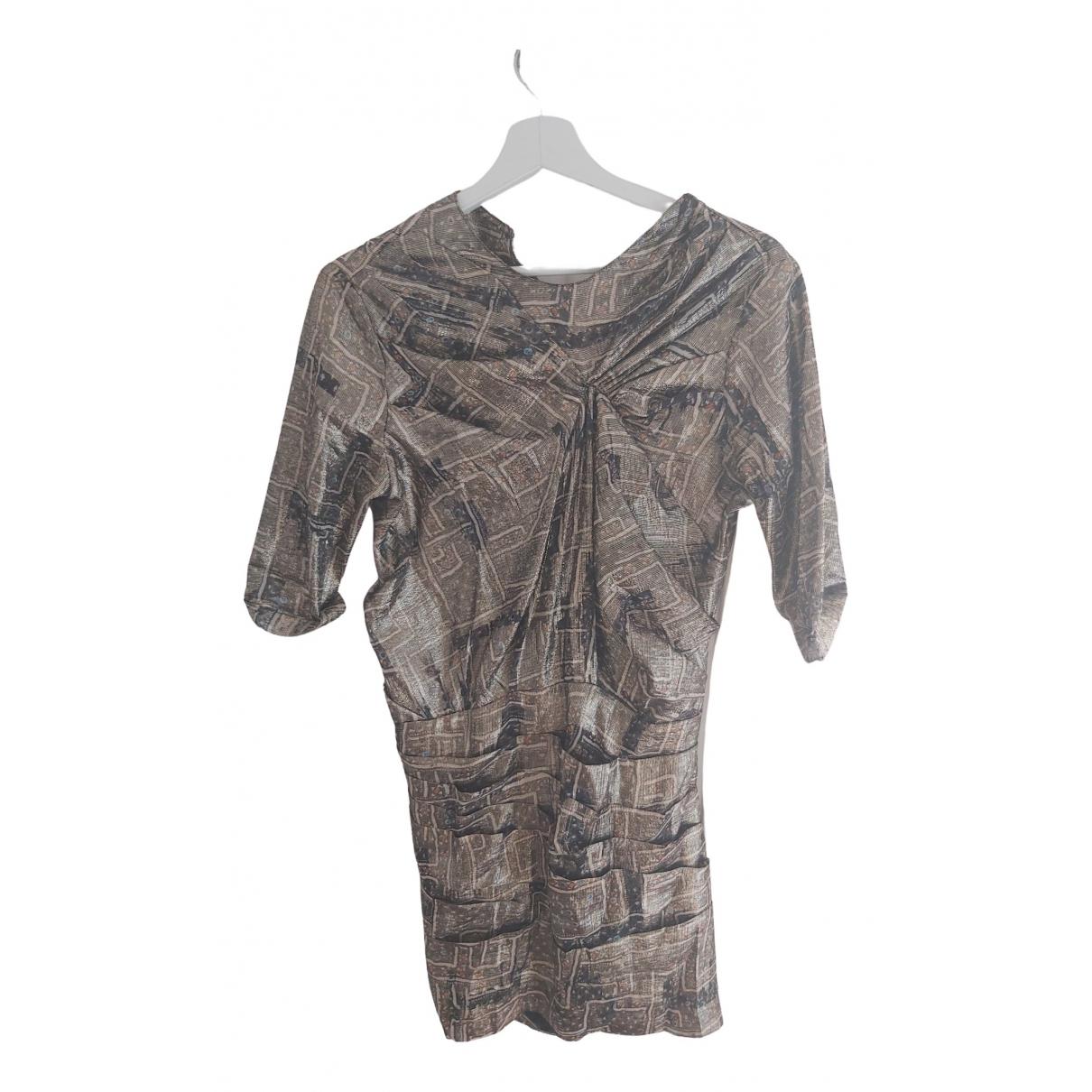 Isabel Marant Pour H&m \N Gold dress for Women 36 FR