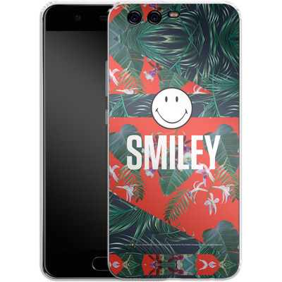 Huawei P10 Silikon Handyhuelle - Tropical Groove von Smiley®