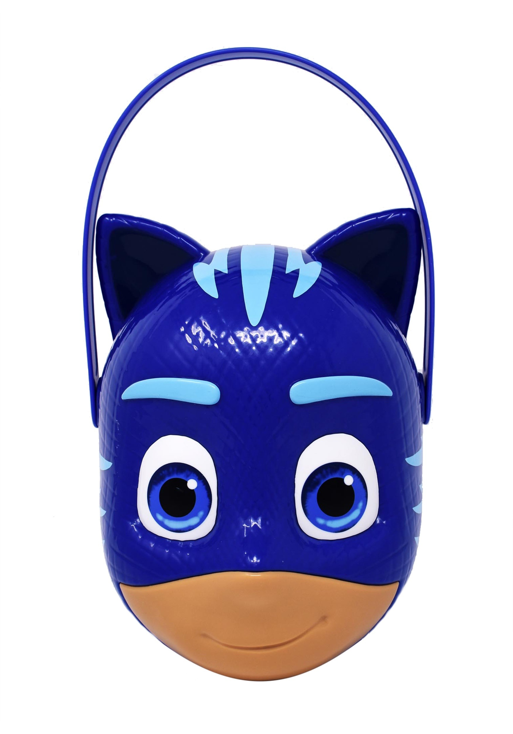Plastic Catboy Trick or Treat Bucket