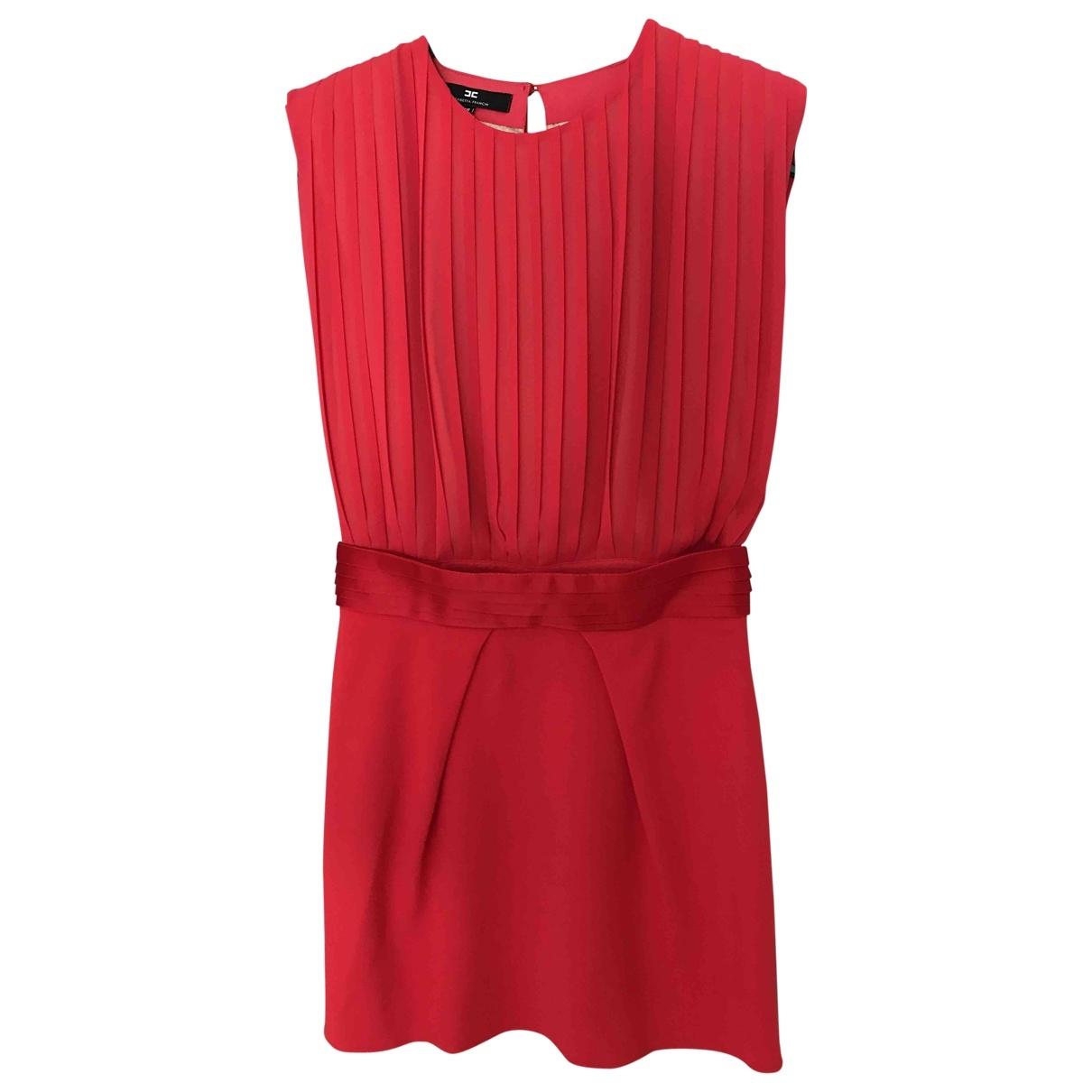 Elisabetta Franchi - Robe   pour femme - rouge