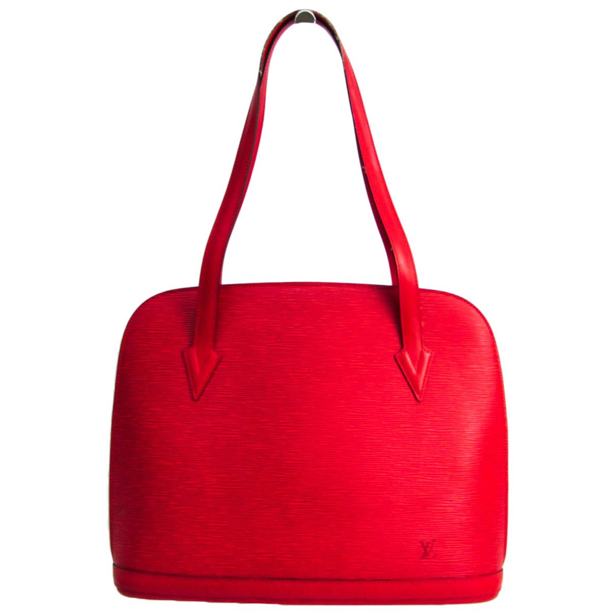 Louis Vuitton \N Handtasche in  Rot Leder