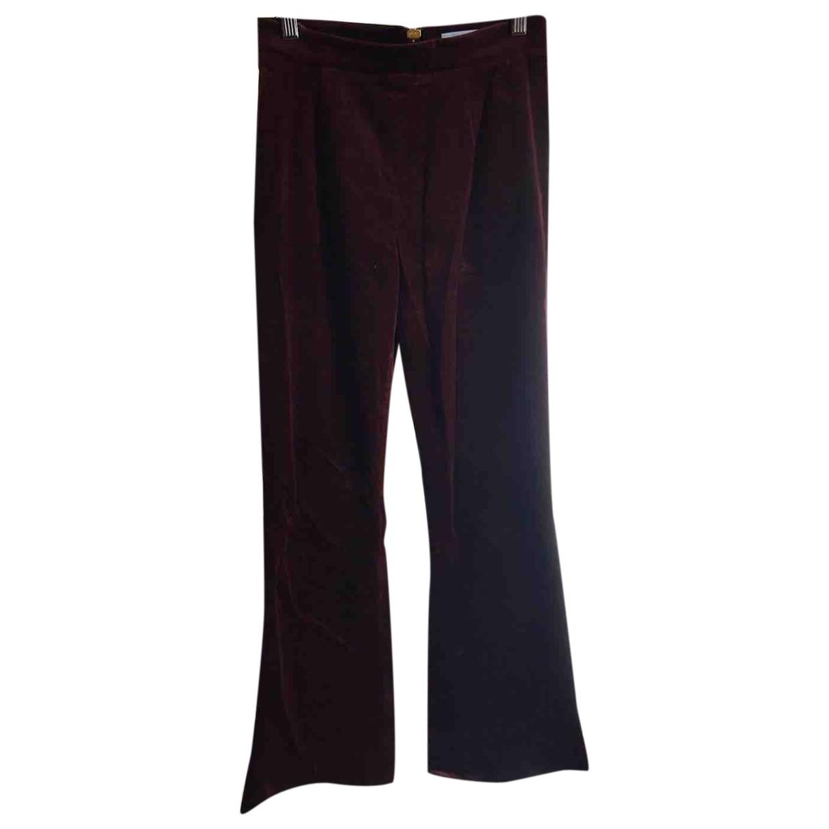 Pantalon de Terciopelo Pierre Balmain