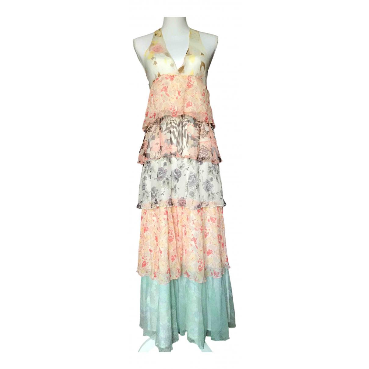 Stella Forest \N Kleid in  Bunt Seide