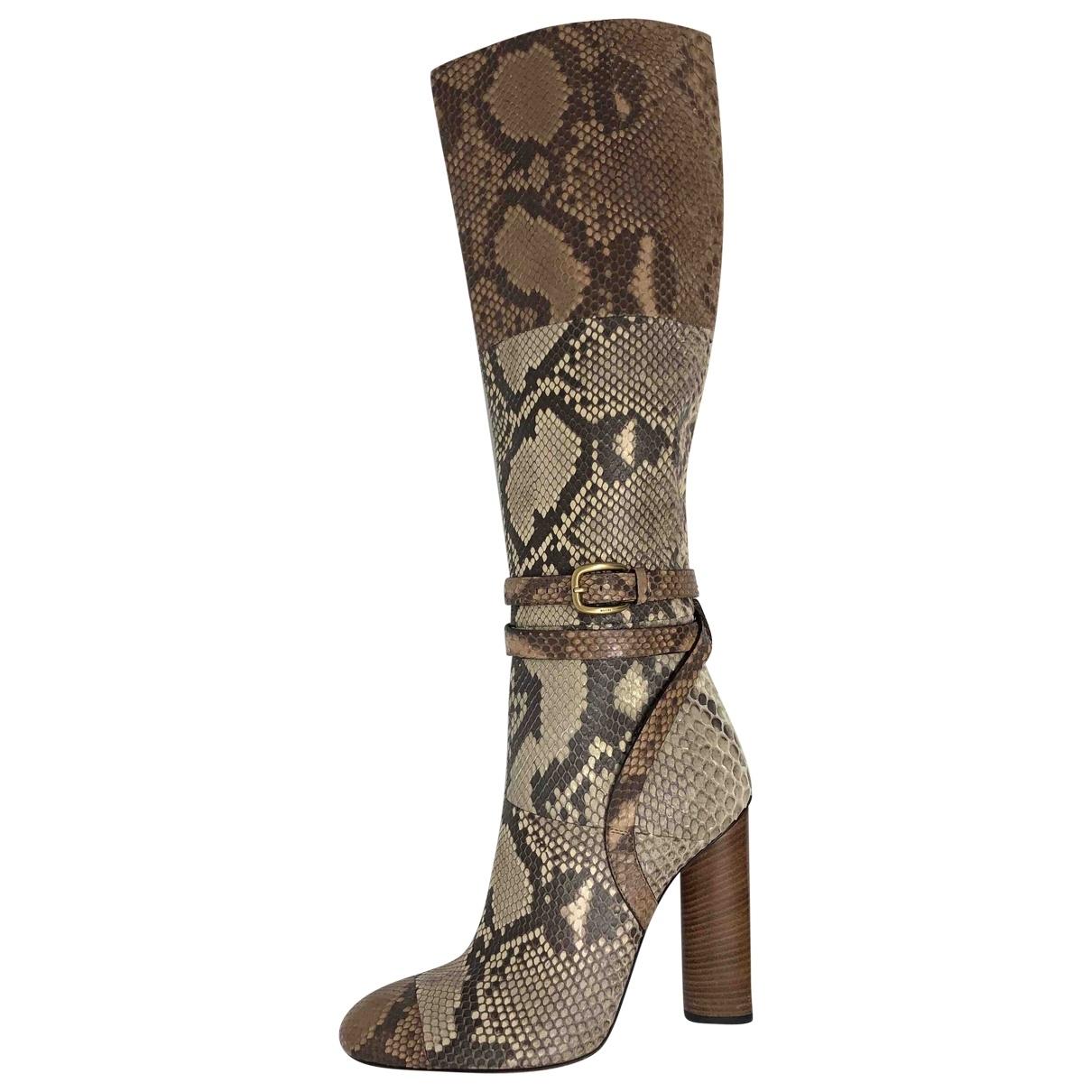 Botas de Piton Gucci