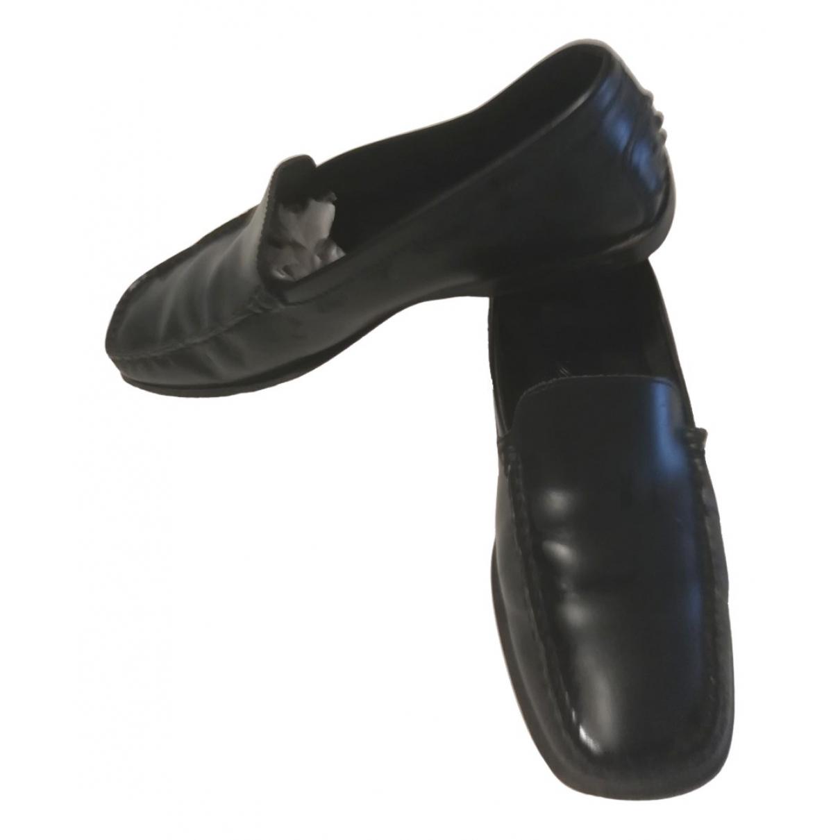 Tods \N Mokassins in  Schwarz Leder