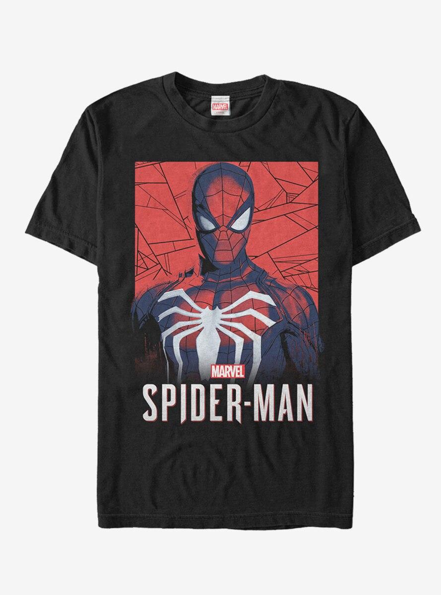 Marvel Gamerverse Spider-Man Shattered T-Shirt