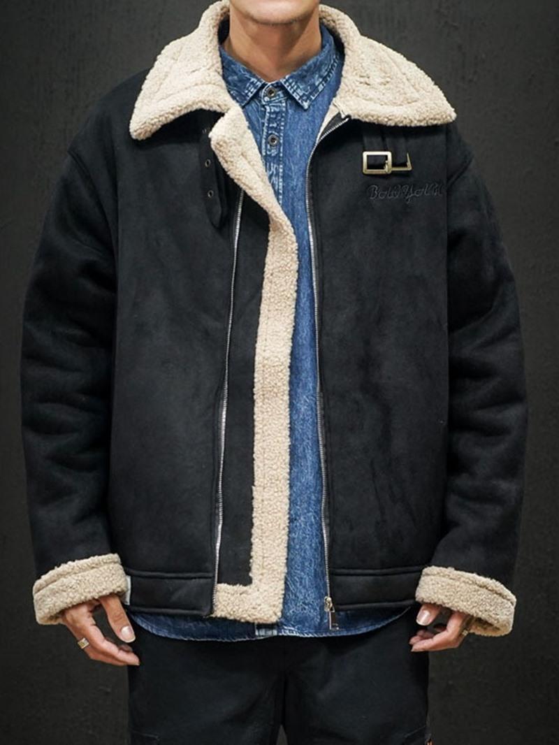 Ericdress Standard Zipper Mandarin Collar Korean Mens Down Jacket