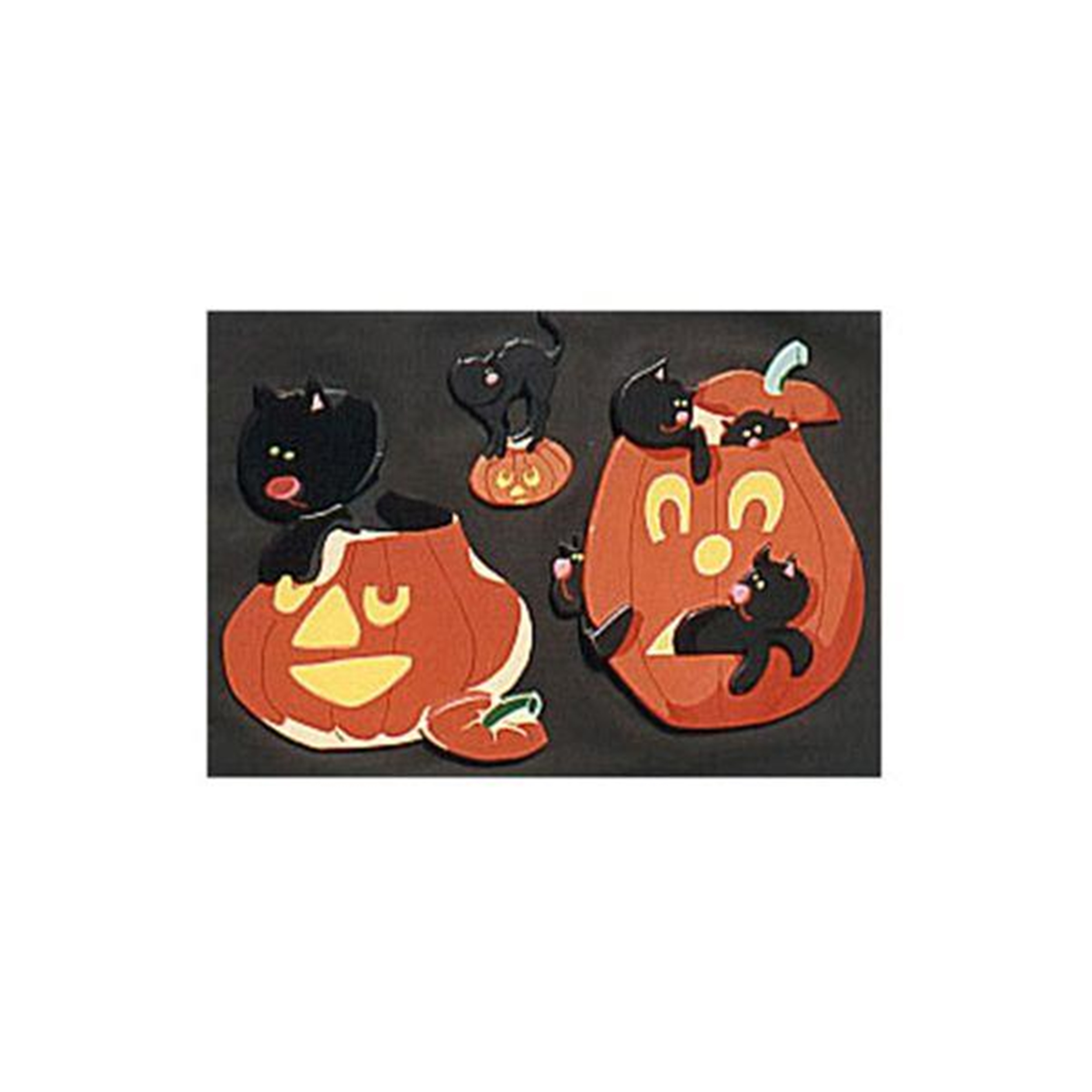 Woodworking Project Paper Plan to Build All Jack O'Lanterns
