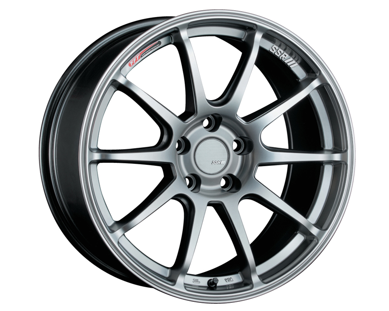 SSR GTV02 Wheel Silver 17x7.0 5x114.3 42mm