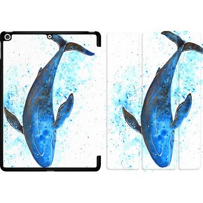 Apple iPad 9.7 (2018) Tablet Smart Case - Whale Dive von Becky Starsmore