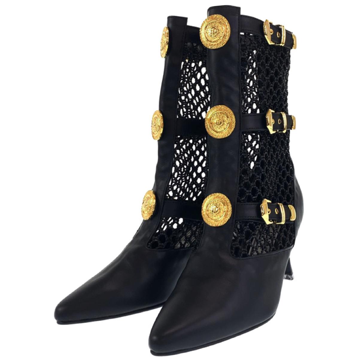 Gianni Versace - Bottes   pour femme en cuir
