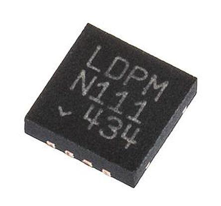Analog Devices LTC2053IDD#PBF , Instrumentation Amplifier, ±10μV Offset 200kHz, R-RI/O, 2.7 V, 8-Pin DFN