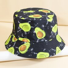 Cartoon Graphic Bucket Hat