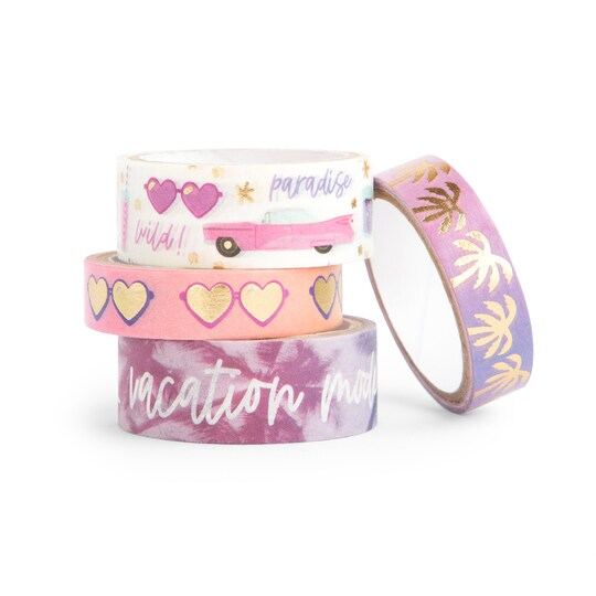 Craft Smith® Go Wild Vacation Mode Washi Tapes   Michaels®