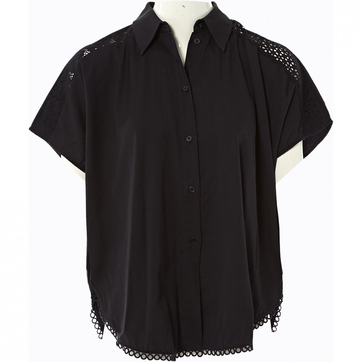 Stella Mccartney \N Black Cotton  top for Women 36 FR
