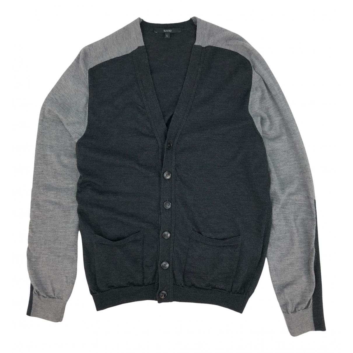 Gucci \N Pullover.Westen.Sweatshirts  in  Grau Kaschmir