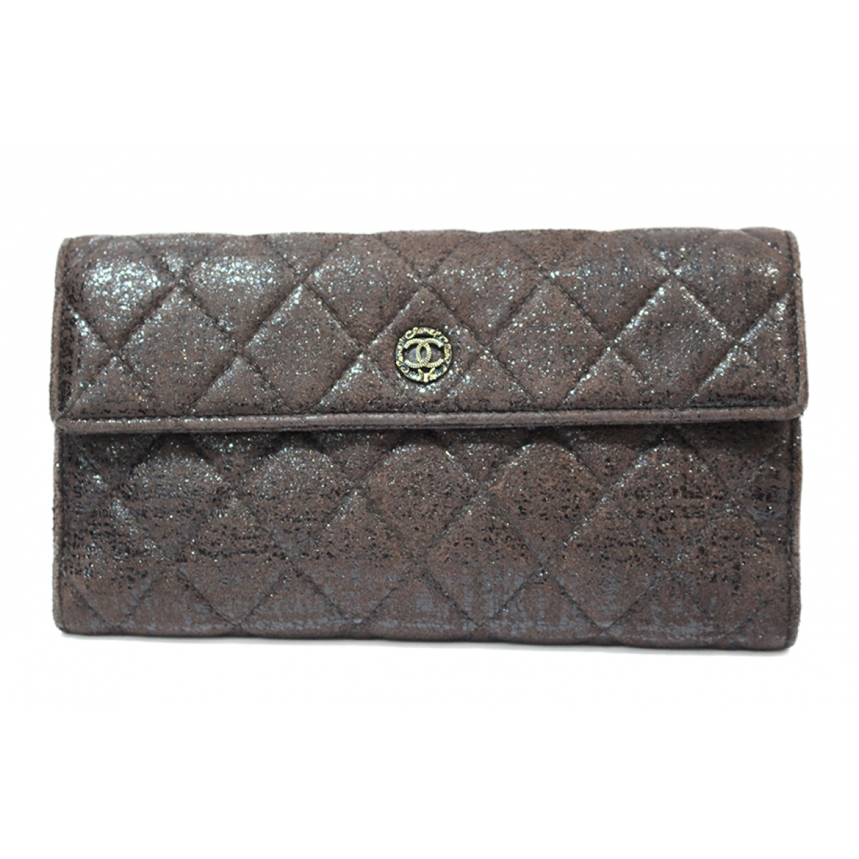 Chanel \N Brown Leather wallet for Women \N