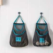 1pc Multifunction Vegetable Storage Mesh Bag