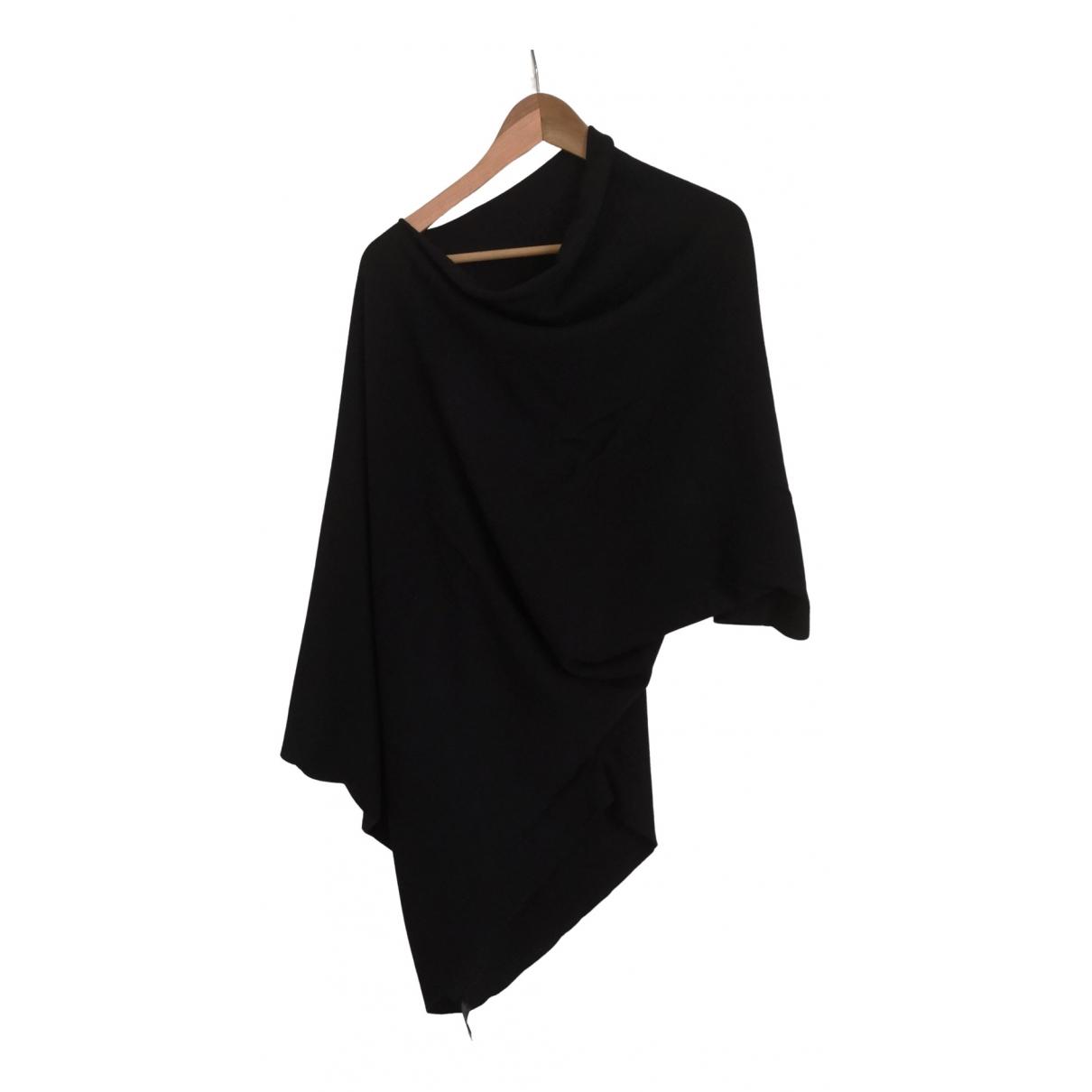 - Pull Oversize pour femme en cachemire - noir