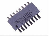 CTS 766 Series 1kΩ ±2% SMT Resistor Network, 1.8W total (49)