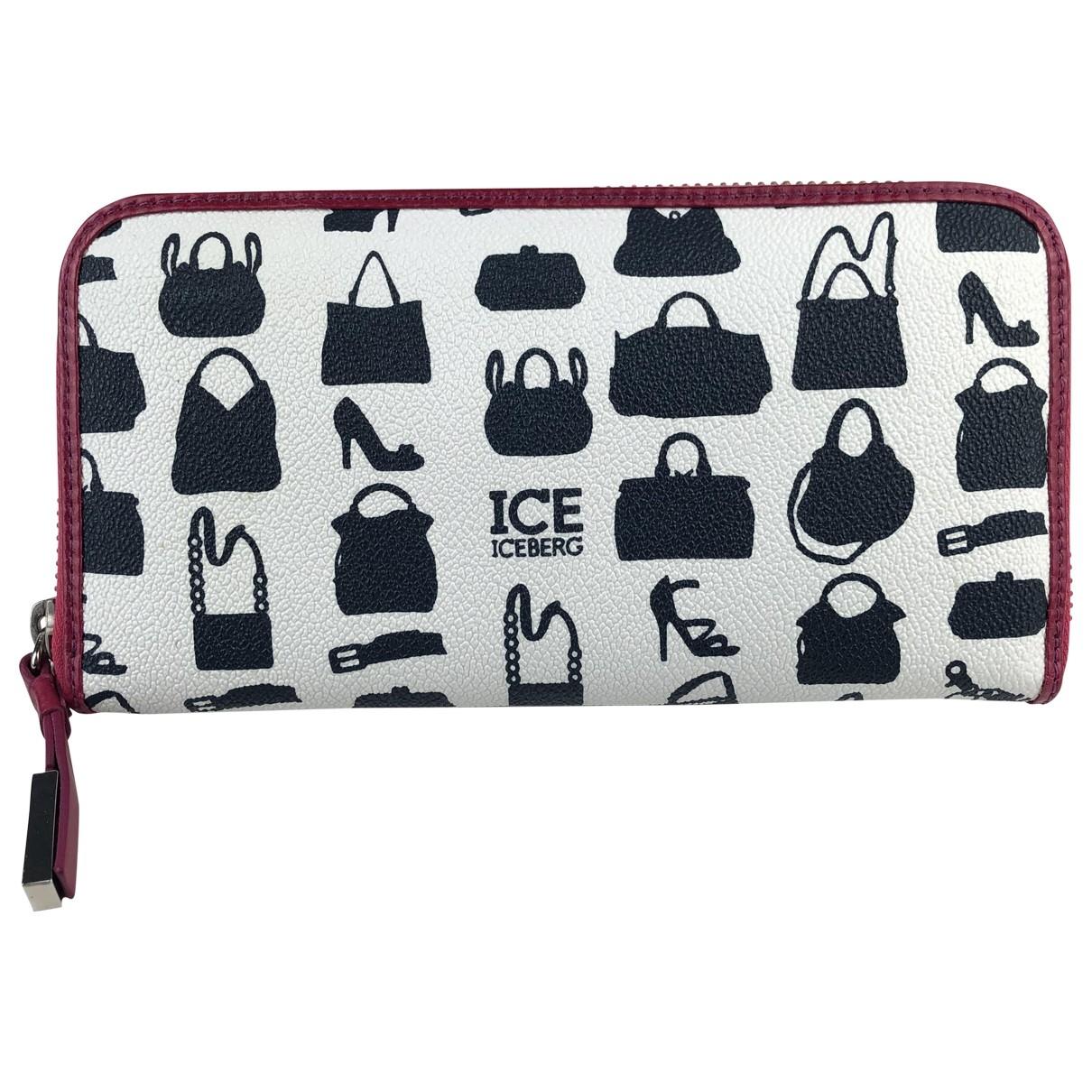 Iceberg - Portefeuille   pour femme en cuir - multicolore