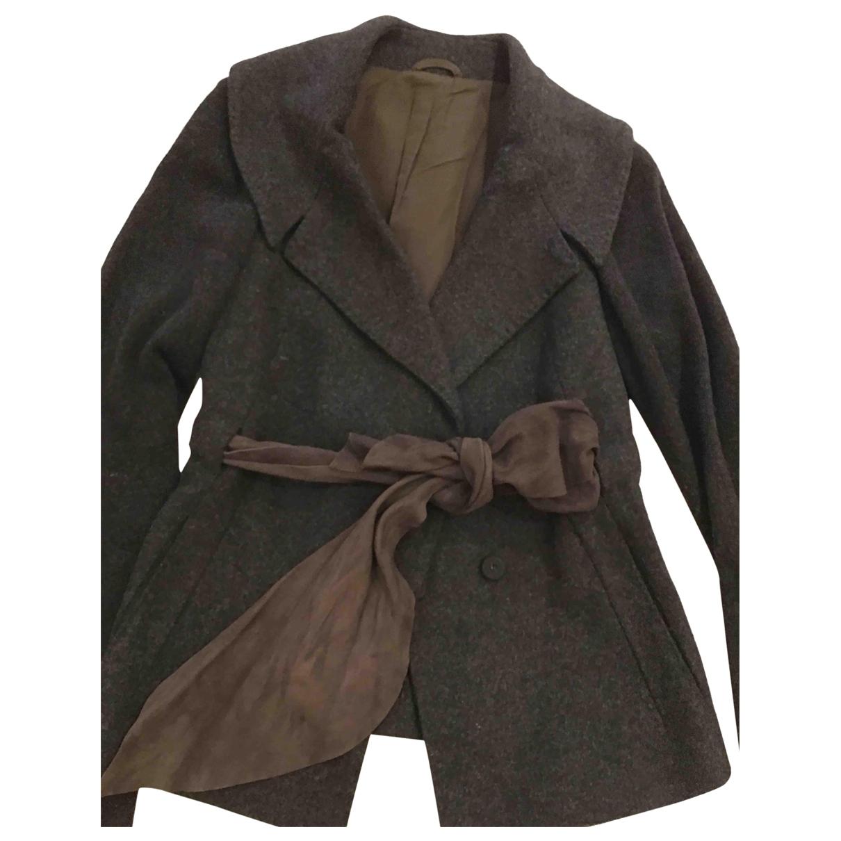 Brunello Cucinelli \N Anthracite Cashmere jacket for Women 38 IT