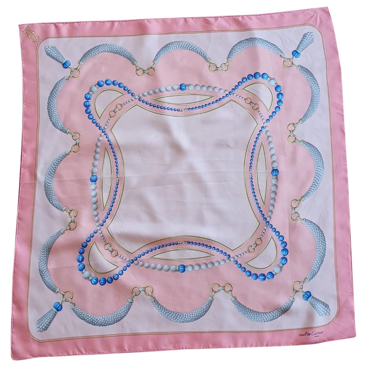 Pañuelo de Seda Cartier