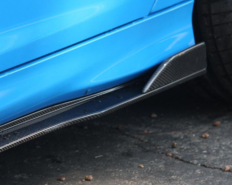 Anderson Composites AC-SS16FDFO-AR Carbon Fiber Type-AR Rocker Panels Ford Focus RS 16-17