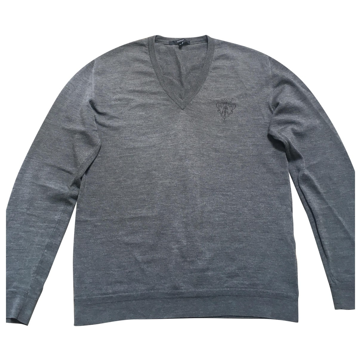 Gucci \N Grey Wool Knitwear & Sweatshirts for Men 52 IT