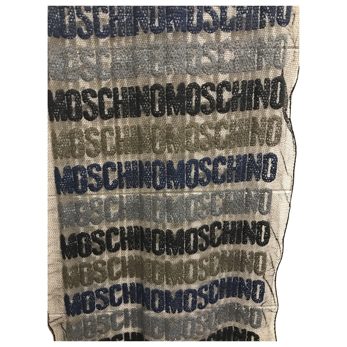 Moschino \N Blue scarf for Women \N