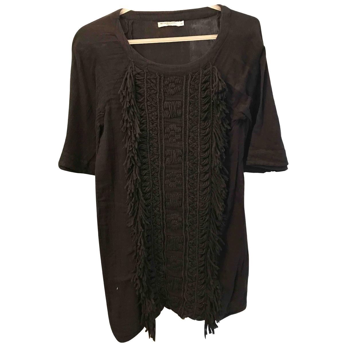 Mes Demoiselles ... - Robe   pour femme en coton - noir