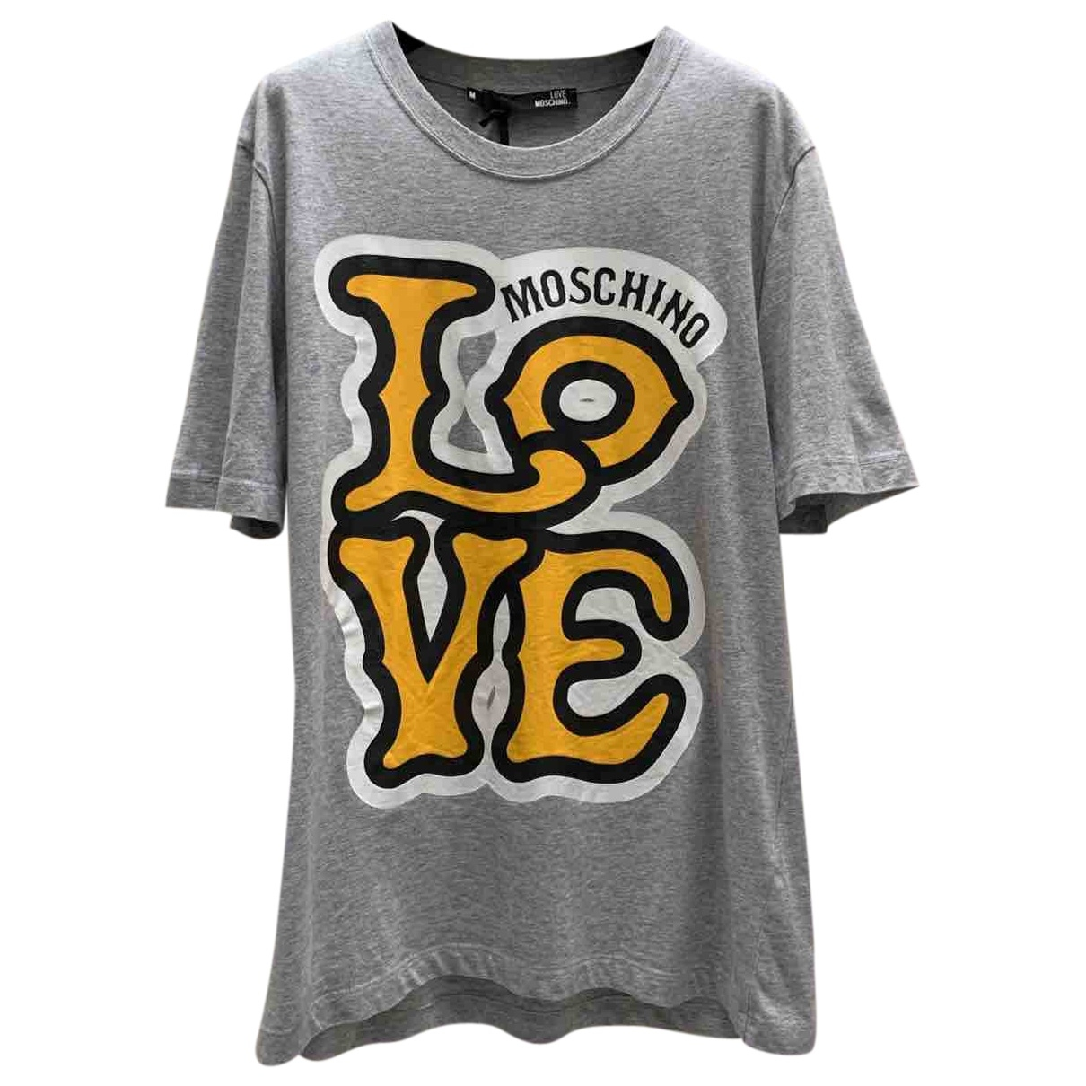 Moschino \N Top in  Grau Baumwolle