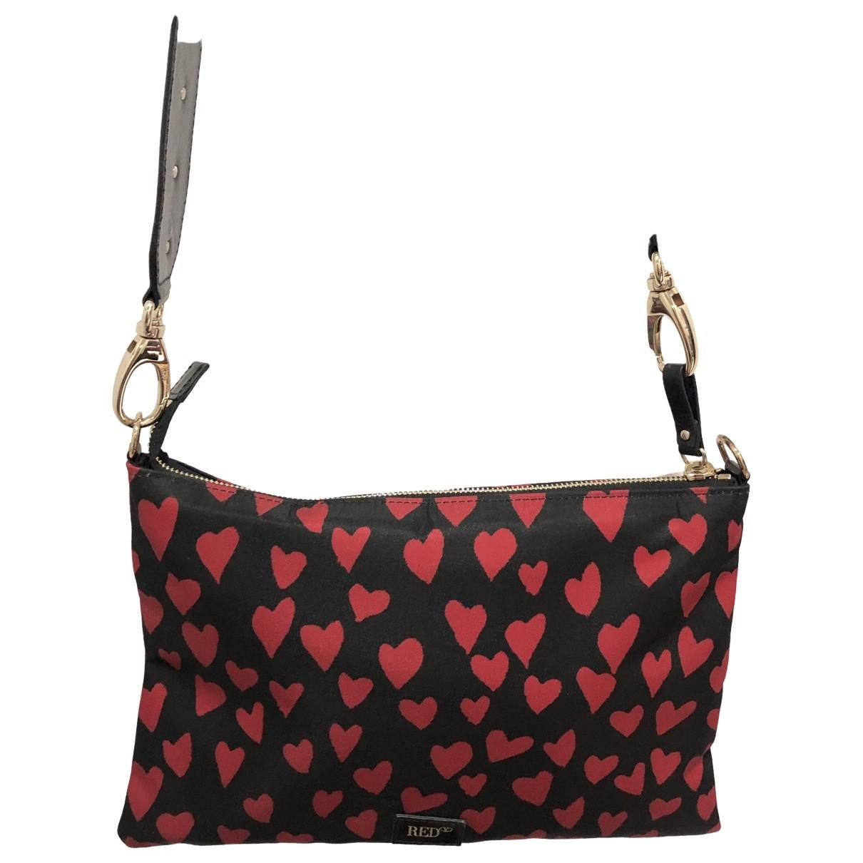 Red Valentino Garavani \N Handtasche in  Schwarz Polyester