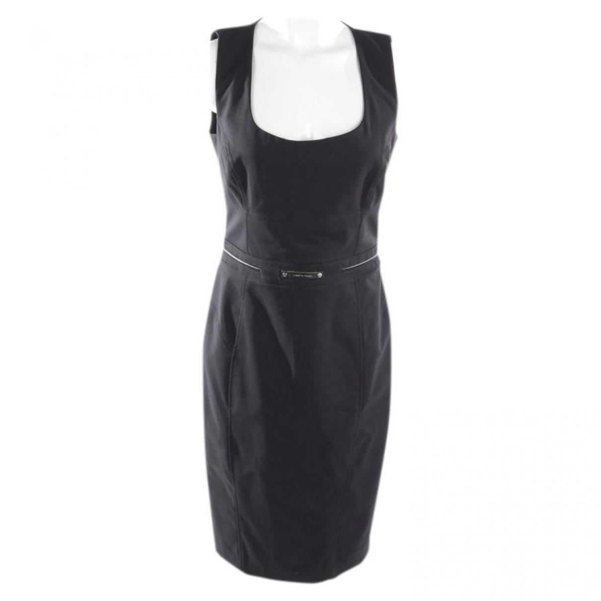Elisabetta Franchi \N Black Cotton dress for Women 40 FR