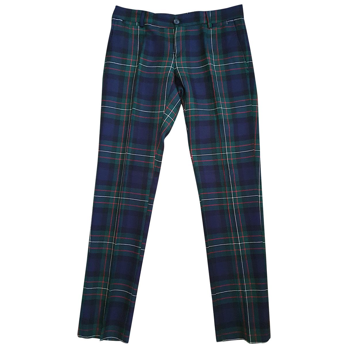 D&g - Pantalon   pour homme en laine - multicolore
