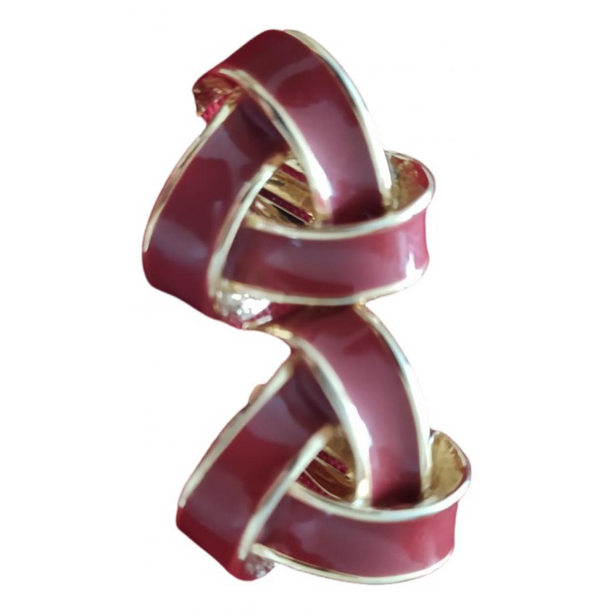 Nina Ricci - Boucles doreilles   pour femme en metal - dore