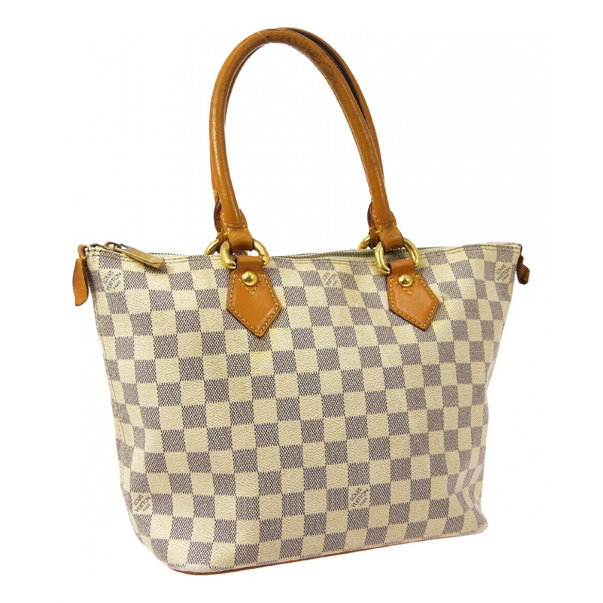 Louis Vuitton Saleya White Cloth handbag for Women \N