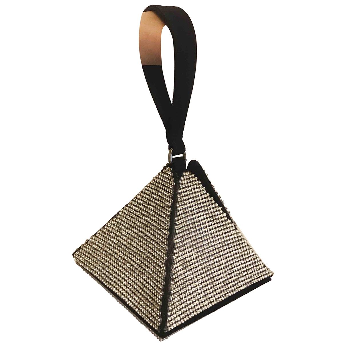Moschino \N Black Silk handbag for Women \N