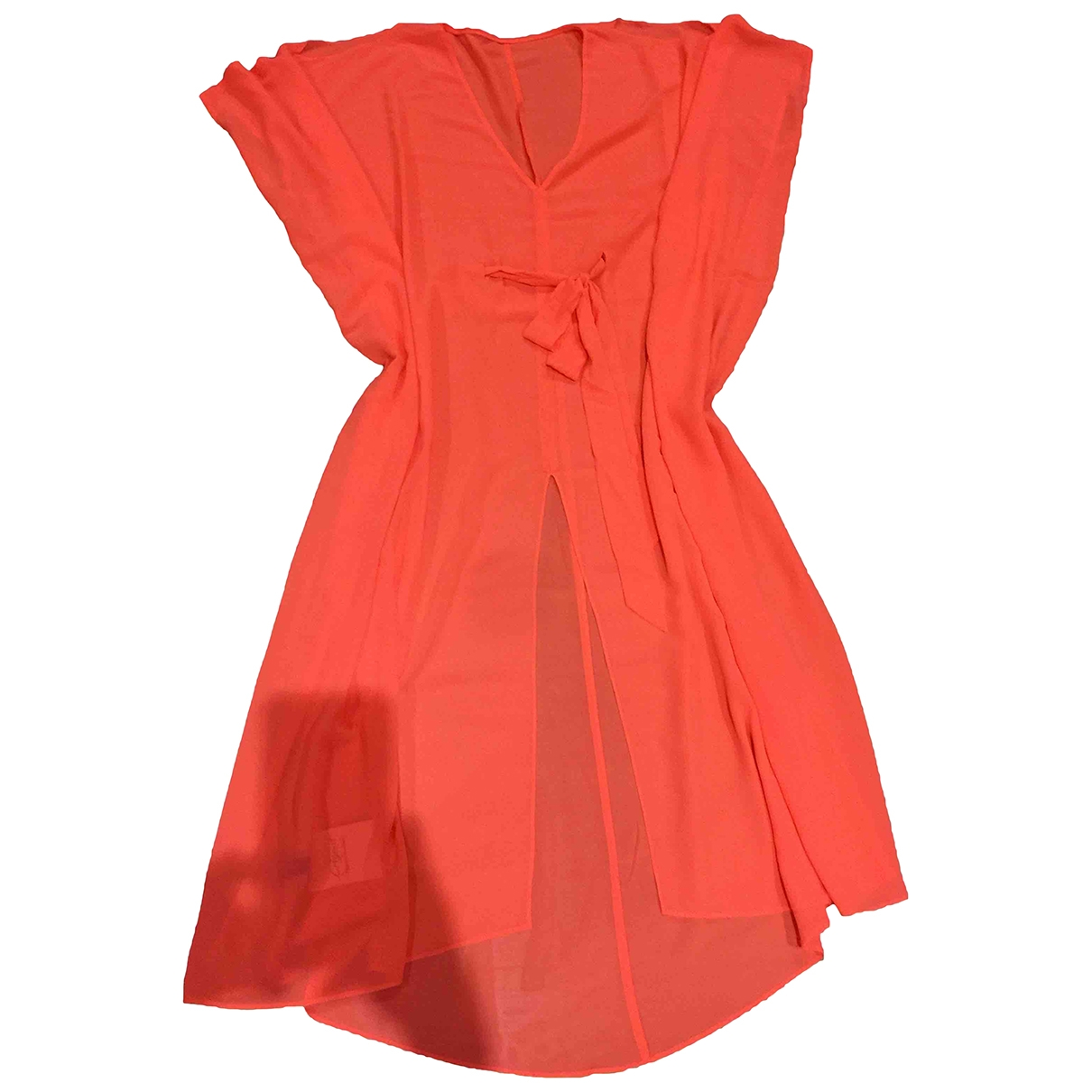 Lagent By Agent Provocateur \N Kleid in  Orange Polyester