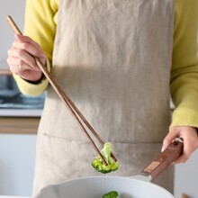 2pairs Wooden Long Chopstick