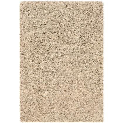Bexley BXL-1000 2' x 3' Rectangle Modern Rug in Camel  Dark Brown